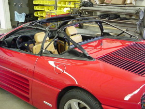 11 ferrari 348 spider convertible top