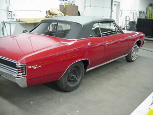 12 1967 chevelle convertible top