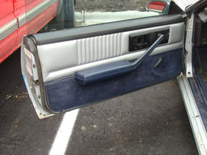 14 1982 chevrolet camaro door panel before