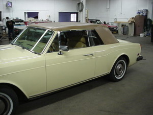 14 rolls royce convertible top