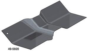 2 molded rubber floor