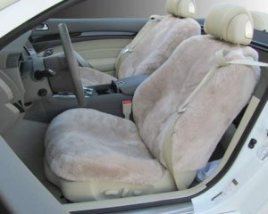 2.2 sheepskin seat covers