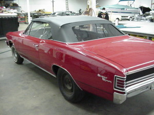 22 1967 chevell convertible top