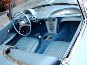 3 1954 corvette interior