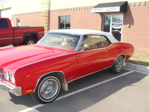 4 1970 chevell convertible top