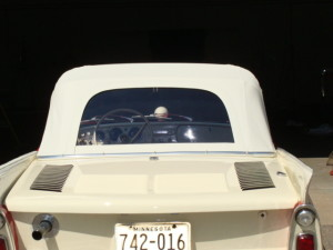 4 amphicar convertible top after