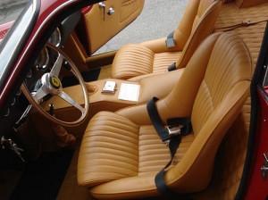 4 ferrari interior upholstery