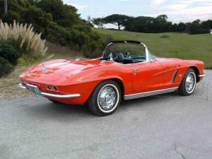 5 1962 corvette