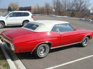 5 1970 chevrolet malibu convertible top