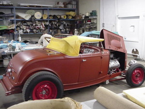6 1932 ford ardun roadster