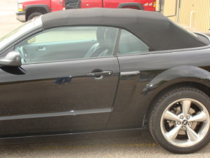 8 mustang convertible top