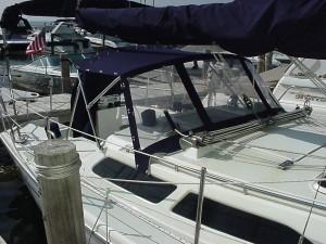 Dodger top sailboat